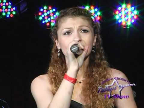 Maria Chaves Singing *Gold*- Talent Conquest