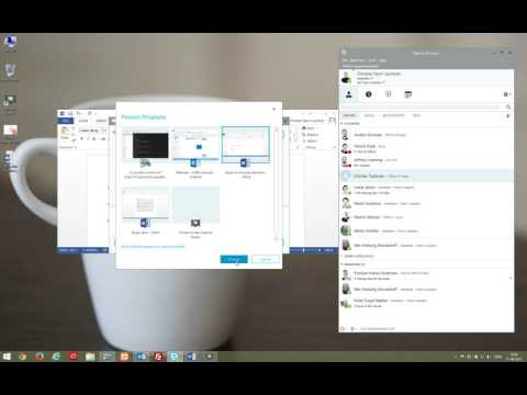 Skype for Business - How to Screen Share and present PowerPoint files