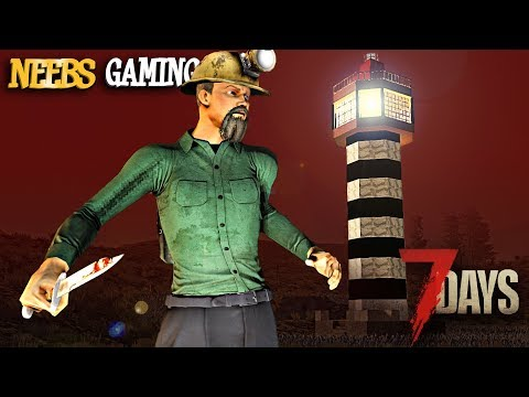 7 Days to Die - Lighthouse vs. The Horde
