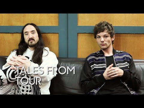 Tales from Tour: Steve Aoki and Louis Tomlinson