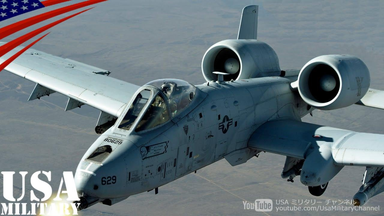 A-10 Thunderbolt II Great 30mm Gatling Gun - GAU-8 Avenger ...