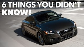 MK2 Audi TT - 6 things you didn't know