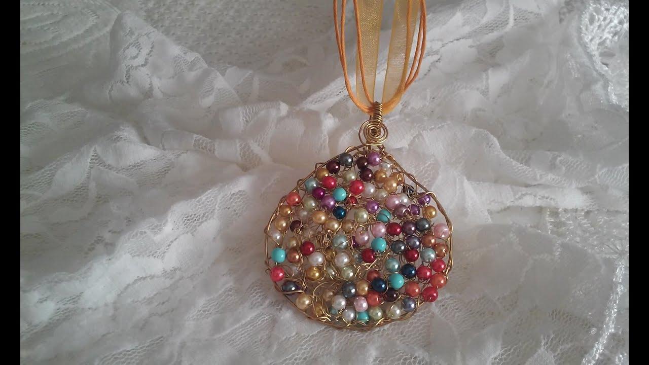 Collares artesanales collares de perlas modernos cursos de bisuteria alambrismo bisuterias