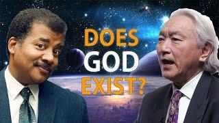 Does God exist? - Nęil deGrasse Tyson and Michio Kaku Debate- Top Speech