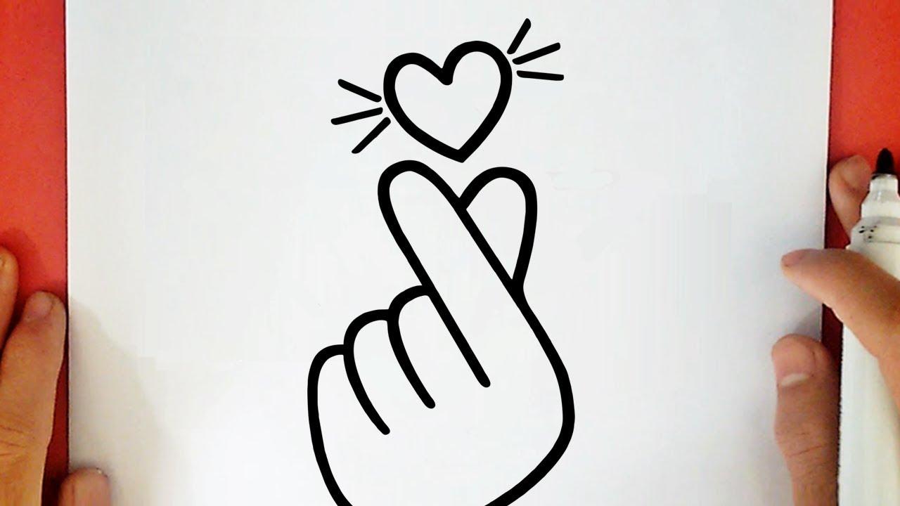 Comment Dessiner Un Coeur Coreen Tumblr Youtube
