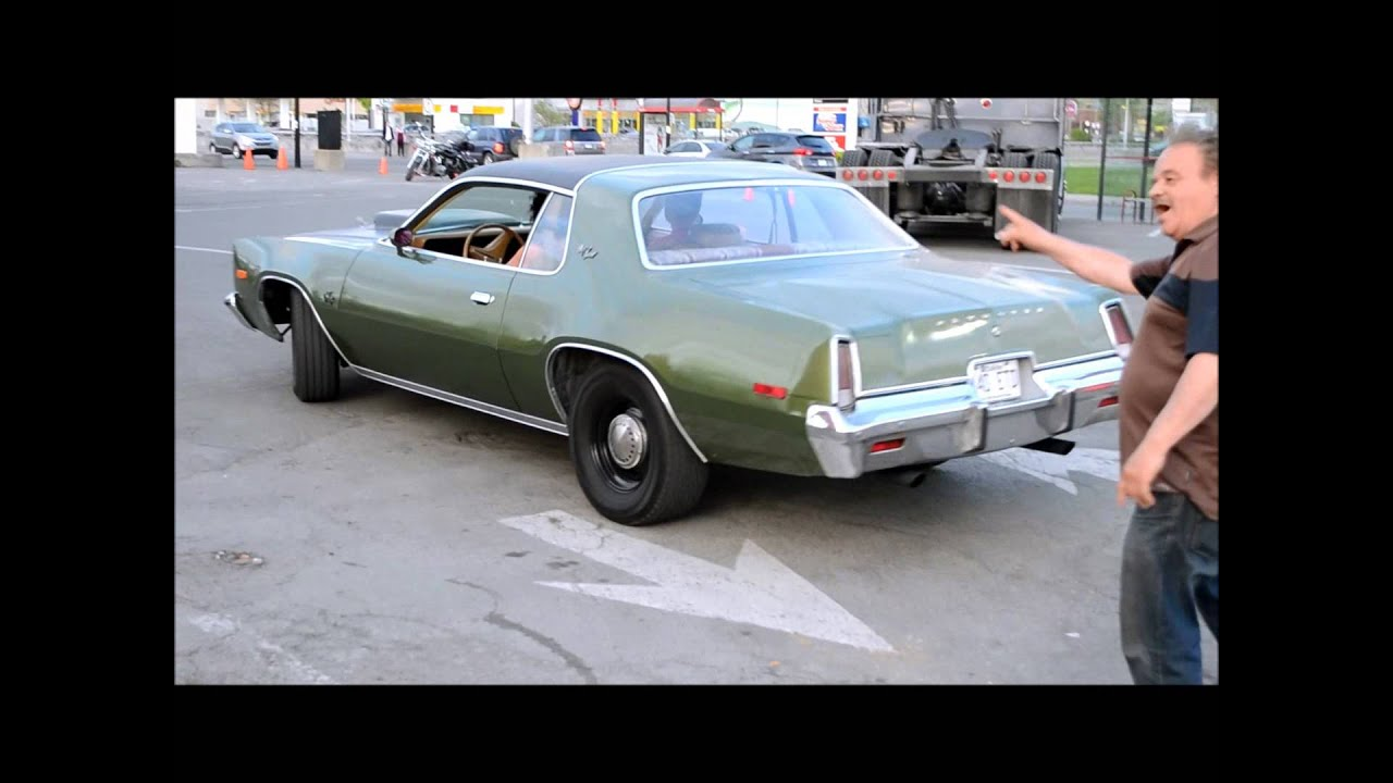 1975 Plymouth Fury Coupe Pulling In Youtube