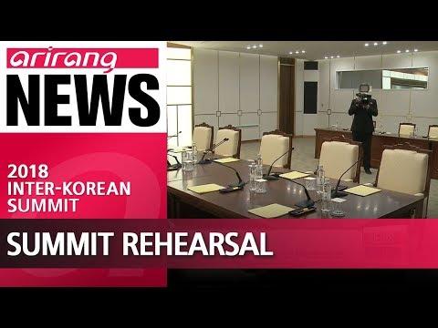 South Korea makes final preparations for Friday's inter-Korean summit