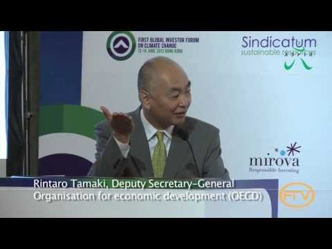 Rintaro Tamaki, OECD | First Global Investor Forum on Climate Change