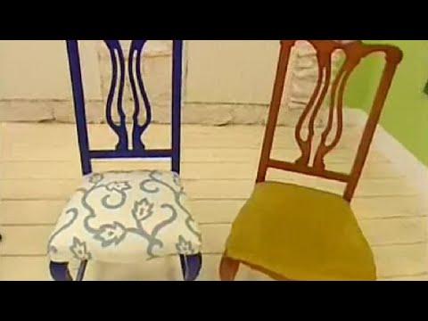 Renovar y tapizar sillas de madera - Hogarmanía