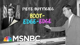 Beto, Buttigieg, Kamala And Klobuchar: 2020 Democratic Names Require A Lesson | MTP Daily | MSNBC