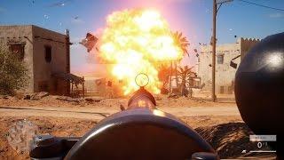 BATTLEFIELD 1 Epic Slow Motion Explosions in ULTRA Settings