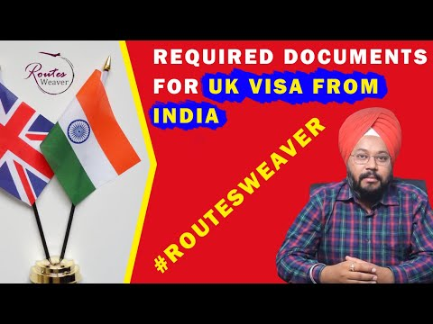 Required documents For United kingdom (UK) visa. Tourist/Visitor visa from India