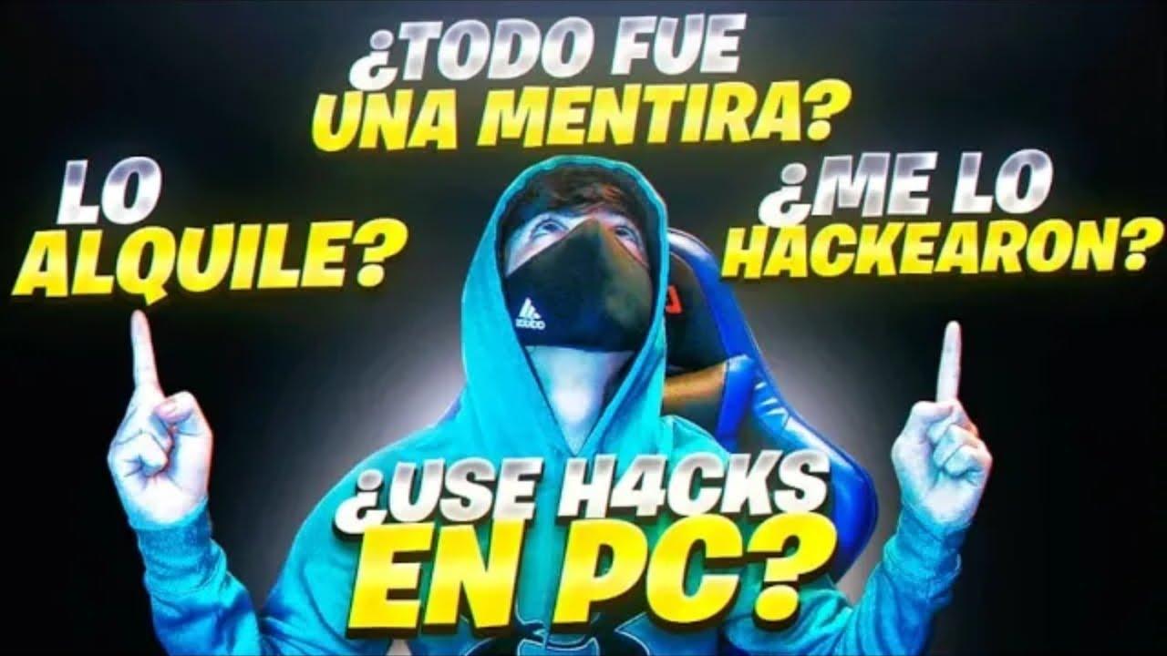 TODA LA VERDAD SOBRE EL HACKEÓ DE MI CANAL ¿USE H4CKS EN PC? *TODA LA VERDAD*