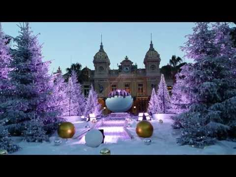 MONACO MONTE - CARLO CITY TOUR BEAUTIFUL VIEWS AND EXOTIC CARS NEW YEAR 2014 4K