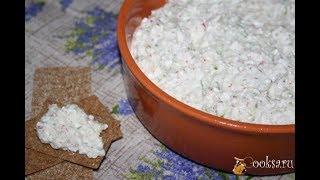 Диетический творожно овощной салат намазка Диетические блюда