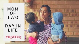 How Do I manage my daily responsibilities with Two Kids | Cooking, Cleaning | Indian vlogger
