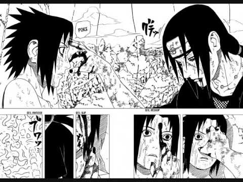 Naruto Manga Chapter 390-395 (Sasuke vs Itachi Final Battle) HQ ...
