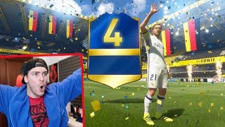 4 TOTS IN A PACK OPENING!! PAZZESCO! +94 (2 GRATIS) - BUNDESLIGA FIFA 17 TOTS PACK OPENING