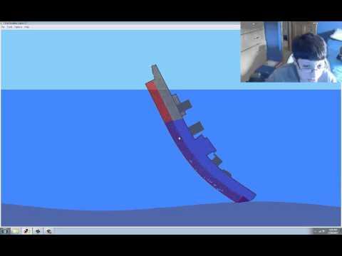 Sinking Simulator HMS Prince of Wales