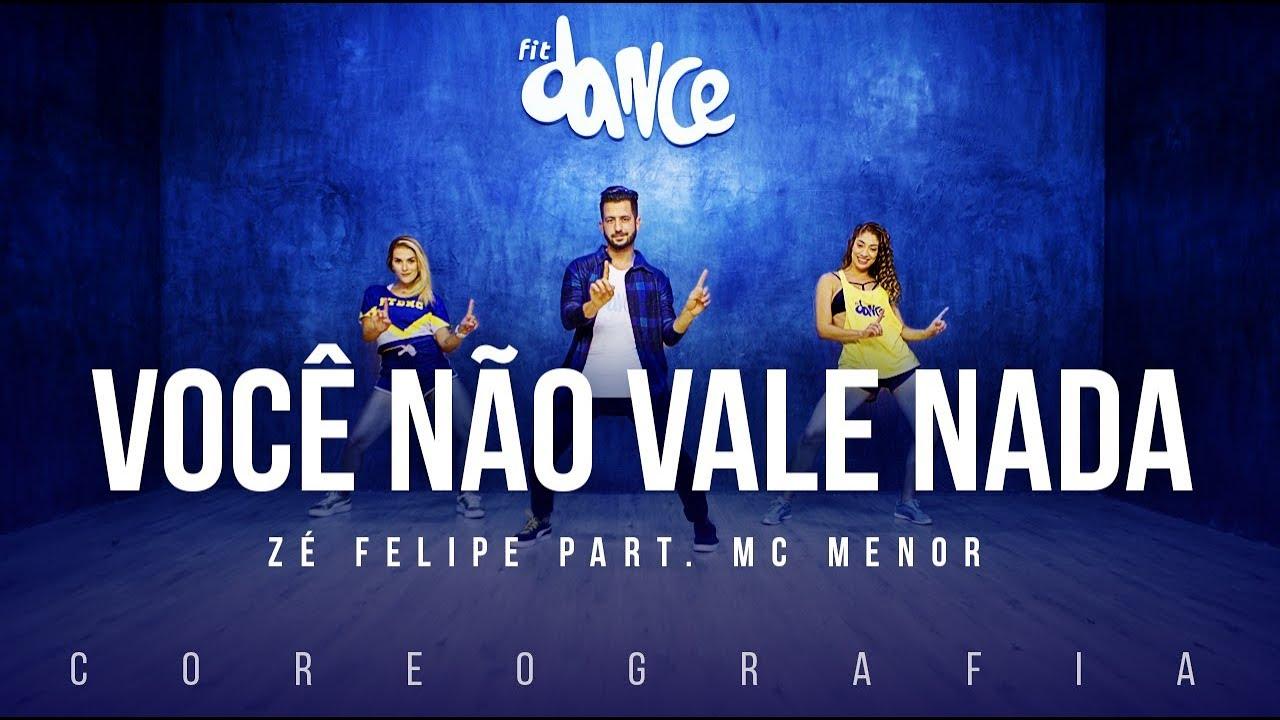 Você não Vale Nada - Zé Felipe part. MC Menor | FitDance TV (Coreografia) Dance Video
