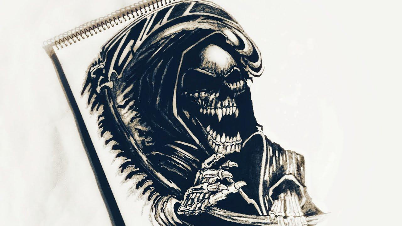 Tattoo Drawings Grim