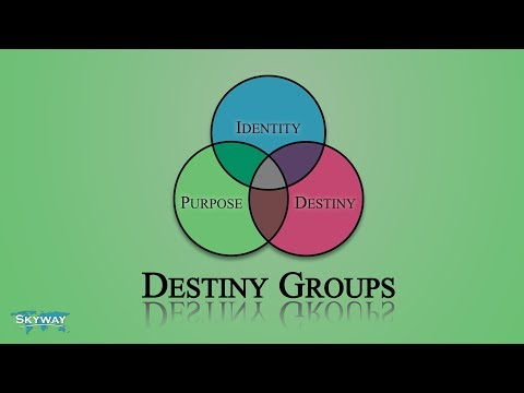 Destiny Groups: Purpose 7 – 7 Motivational Gifts Pt 2