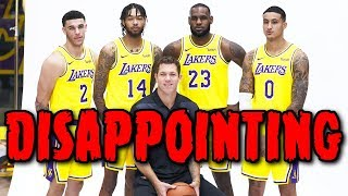 Will The Lakers Be The BIGGEST DISAPPOINTMENT In The NBA