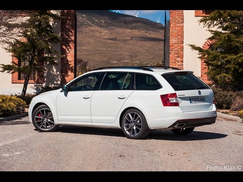 skoda octavia combi rs prueba youtube. Black Bedroom Furniture Sets. Home Design Ideas