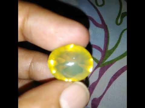 NATURAL FIRE OPAL WONOGIRI Full Clean Top Color n Luster Loose Stone (vid.flash)