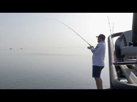 Bay Fishing for Redfish and Trout in Corpus Christi, Texas.
