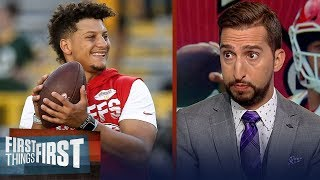 Nick Wright: Chiefs are the best team & will win the Super Bowl, not Pats | NFL | FIRST THINGS FIRST