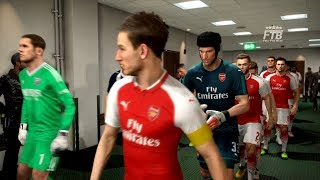 ARSENAL vs WEST BROMWICH ALBION | Full match & Gameplay | PES 2018 | PS4
