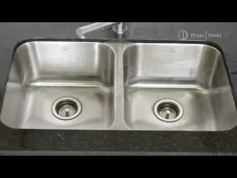 How to remove stains from Pearl Sinks® stainless steel sinks?