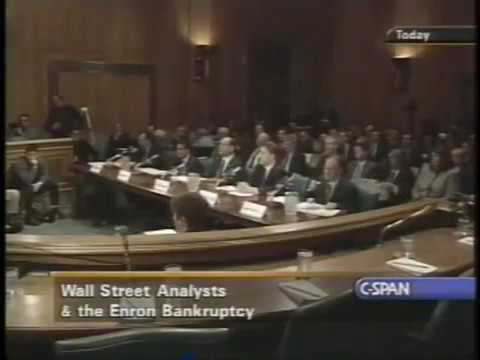 Did Wall Street Analysts Predict the Enron Bankruptcy? Debt, Finance (2002)