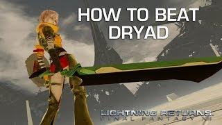 Lightning Returns: Final Fantasy 13 - Dryad Gameplay
