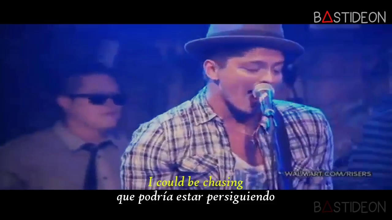 Bruno Mars Nothin On You Sub Español Lyrics Youtube