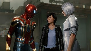 Spider-Man Meets Silver Sable (Iron Spider Suit Walkthrough) - Marvel