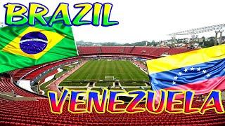 Brazil vs Venezuela / World Cup 2022 South America Qualification