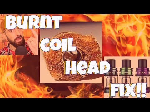 Having Burnt Coil Head Problems? Getting Dry Hits? Here's A Quick Fix! SMOK Baby Beast Issues!