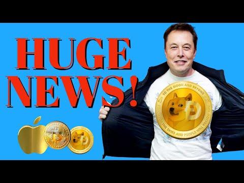 DOGECOIN: HUGE NEWS! MUST WATCH !!