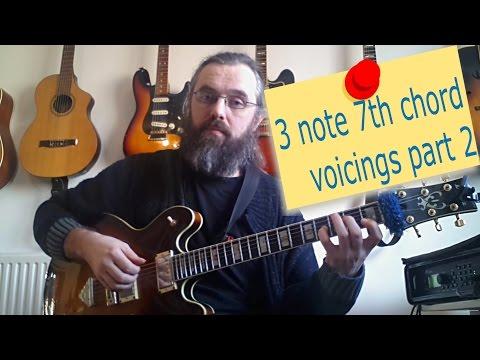 Jazz Chord Essentials   3 note 7th chords part 2