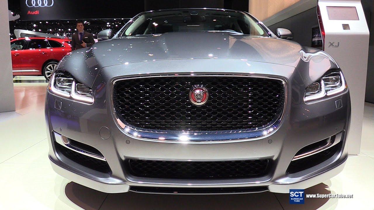 2016 Jaguar XJ R Sport   Exterior And Interior Walkaround   2015 LA Auto  Show   YouTube