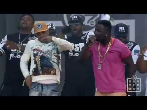 TROY AVE performs at Hot97 Summer Jam 2014