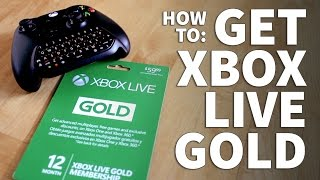 How to Get Xbox Live -  Xbox Live Gold Subscription Redeem Free Trial or Paid Code and Play Online thumbnail