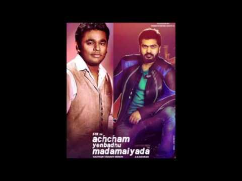 Avalum Naanum- Guitar version Achcham Yenbathu Madamaiyada BGM A.R