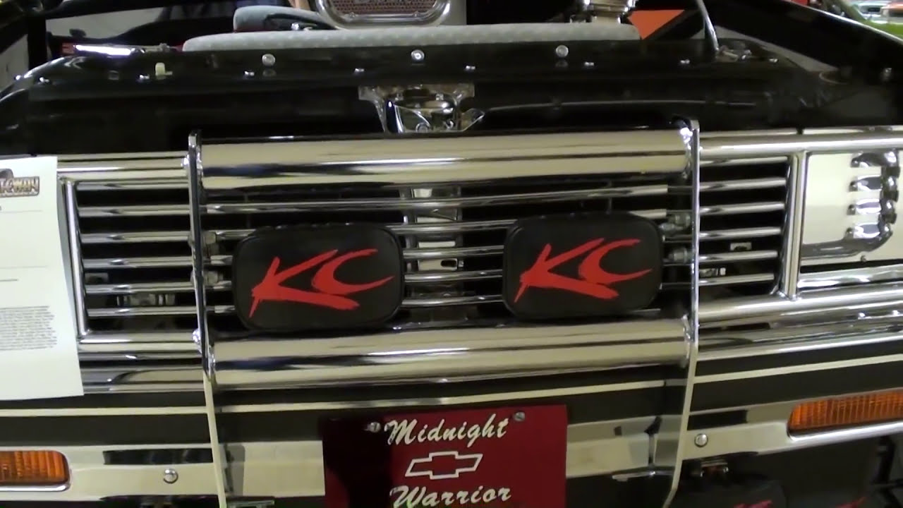 Custom Lifted Chevy S10 Supercharged Show Truck 4x4  Ramblinaround 06:45 HD