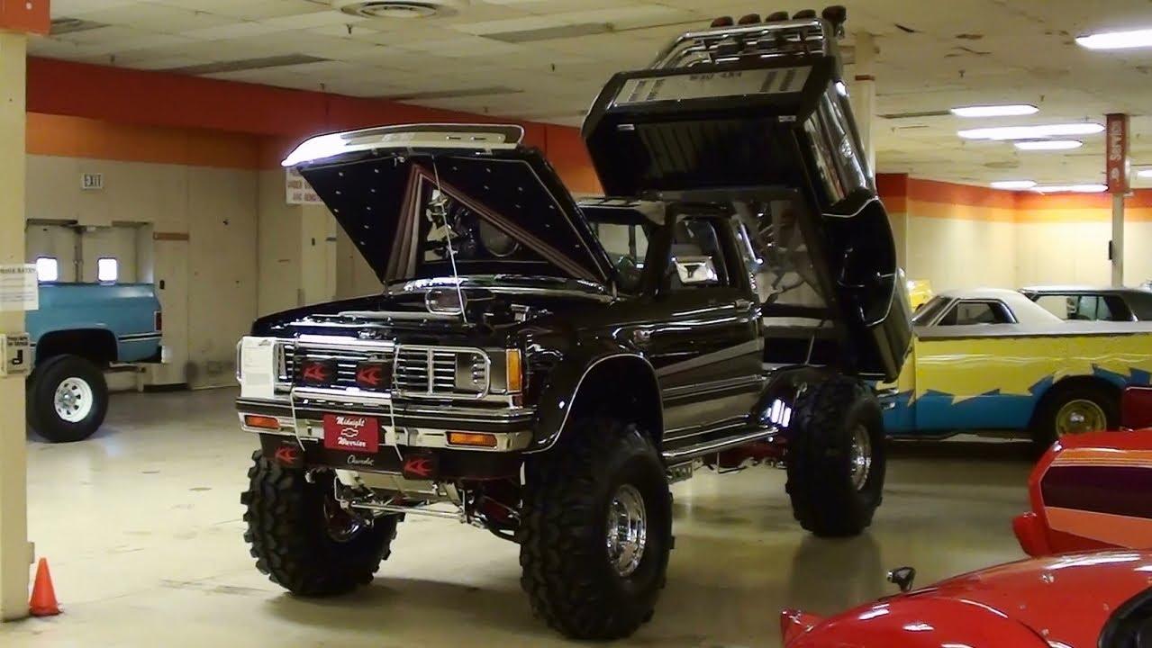 Custom C1500 Truck Pickup Black Chevy
