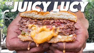 THE JUICY LUCY (THE BEST STUFFED BURGER IN AMERICA?) | SAM THE COOKING GUY