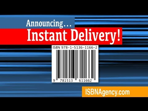 Get an ISBN Barcode instantly -- ISBN Agency