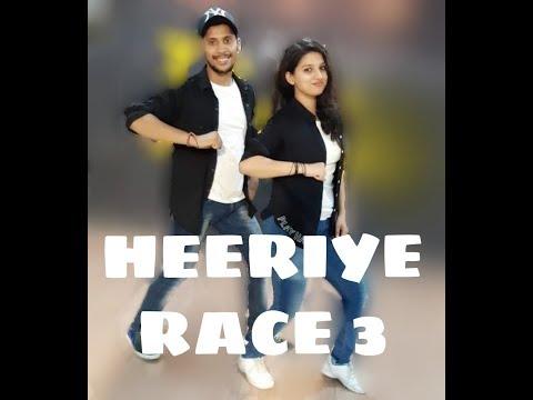 HEERIYE  RACE-3 || EID SPECIAL || Salman Khan, Jacqueline || Meet BROS ft. Deep Money